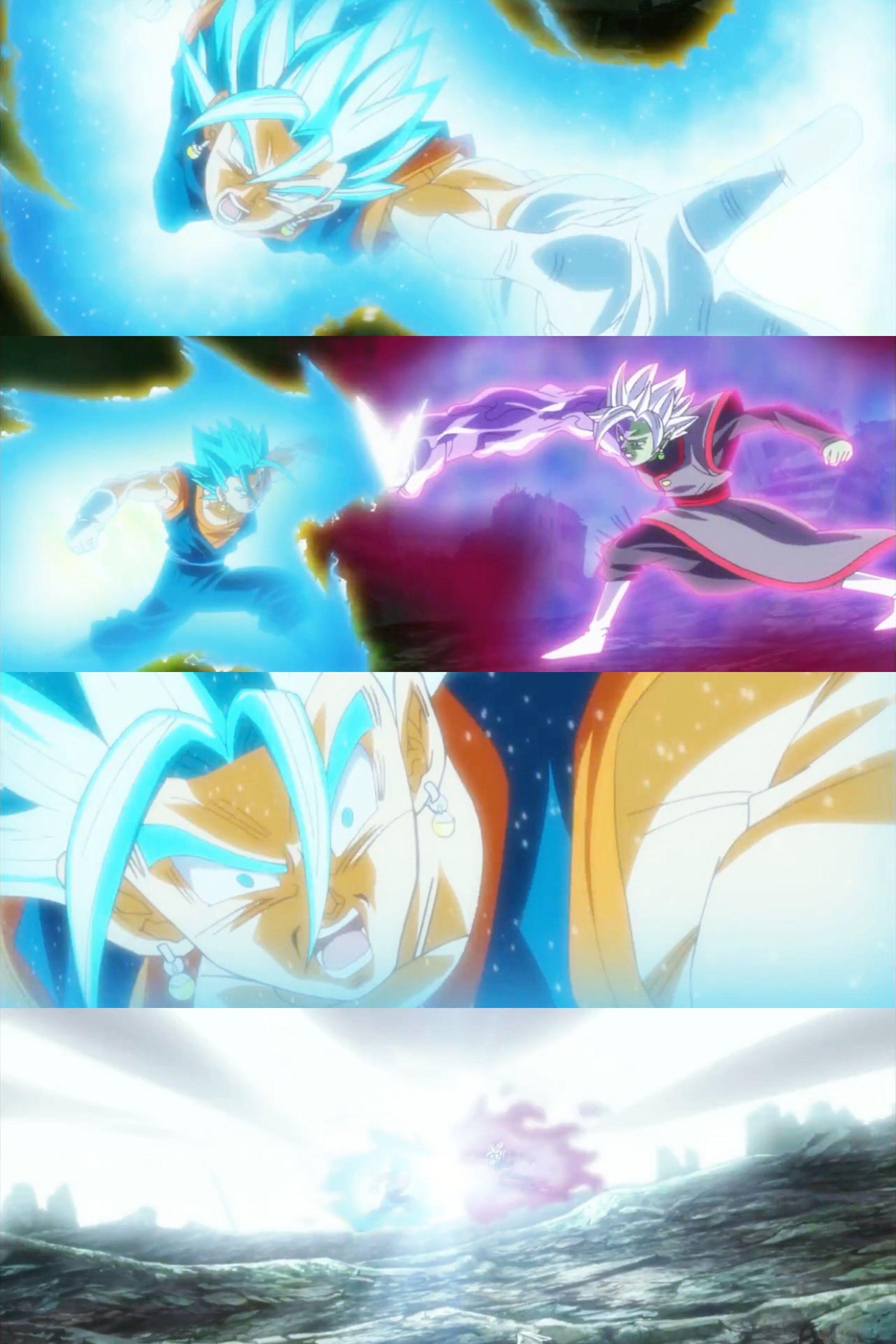 Vegito Blue God Vs Zamasu God Potara Fusion Plus Size Phone Wallpaper Made With Moldiv Collage App Dragon Ball Super Dragon Ball Dragon Ball Z
