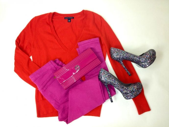 8463084682 Bold Color for Valentine's Day outfit   Shopping   OakPark.com ...