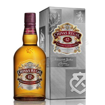Chivas Regal 12 Anos 750 Cc En 2020 Chivas Whisky Y Botellas