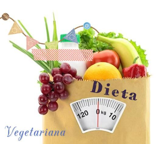 Dieta vegetariana para perder 10 kg