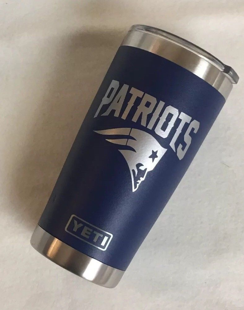 Custom New England Patriots Football Team Sports Yeti Rambler Tumbler 20 New England Patriots Cheerleaders Patriots Football Team New England Patriots Football