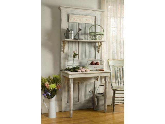 des portes anciennes pour donner du cachet un int rieur 20 id es id es pour la maison. Black Bedroom Furniture Sets. Home Design Ideas