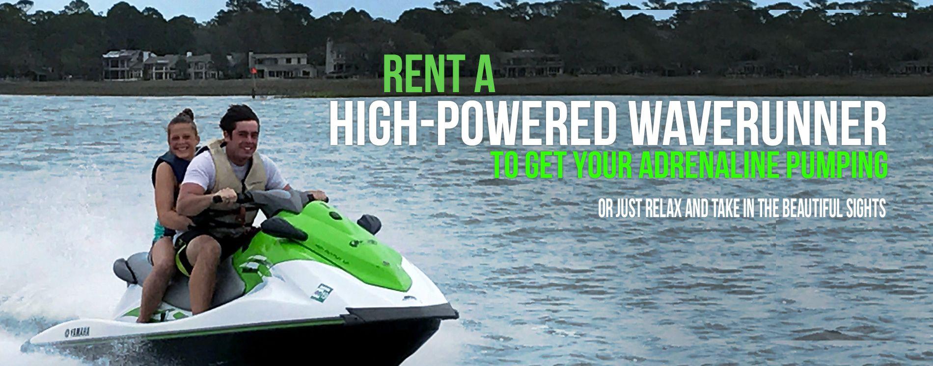 Hilton Head Sailing Hilton head, Jet ski rentals, Waverunner