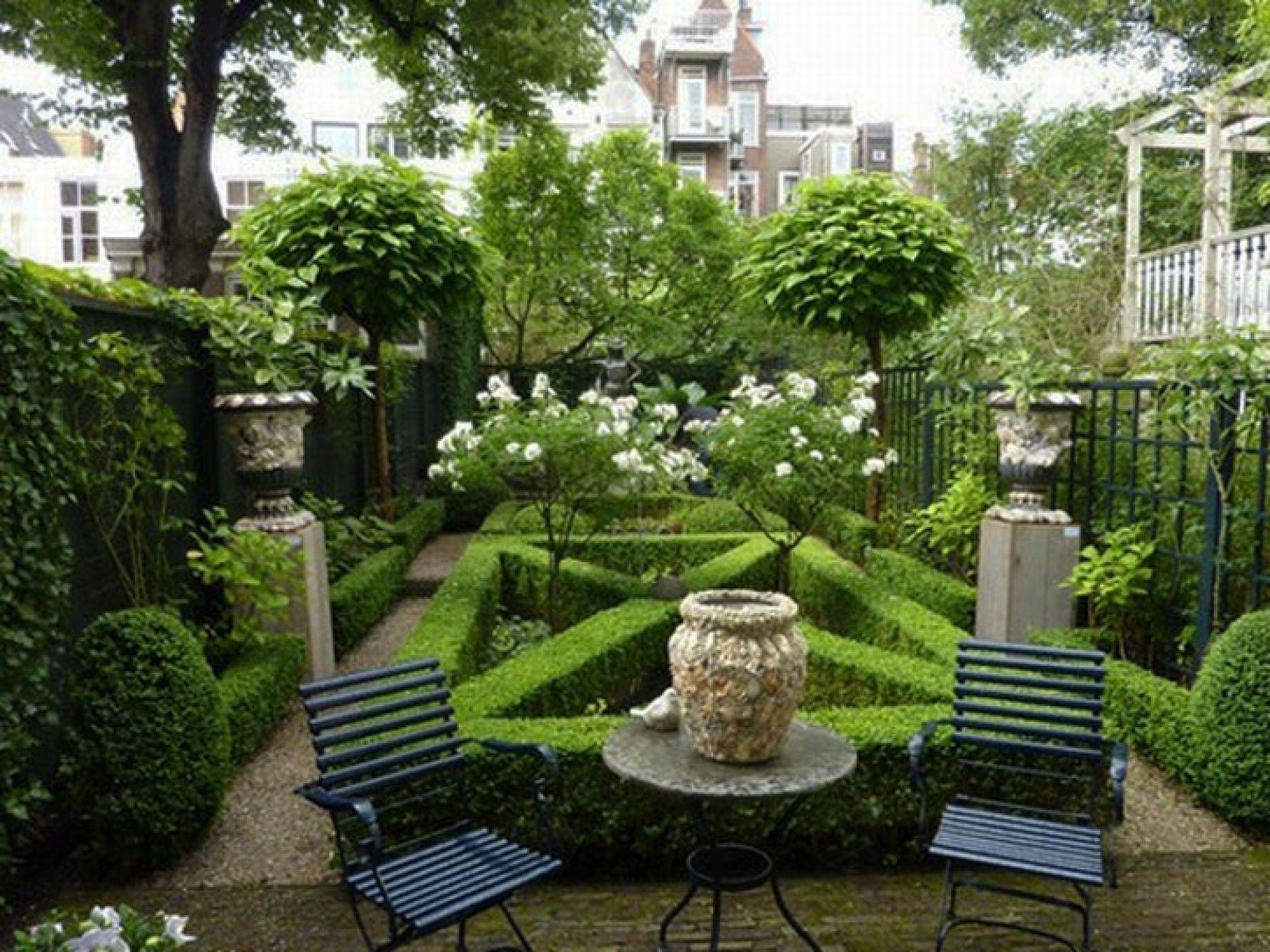 Flower Garden Tropical Formal Garden Layout Ideas And ...