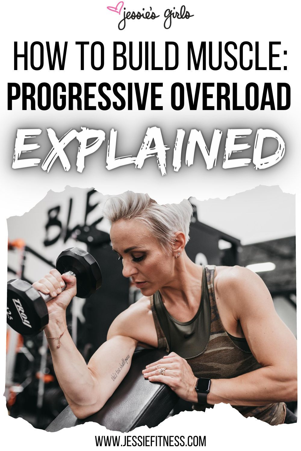 Progressive Overload tips and Tricks for Women to Build Muscle