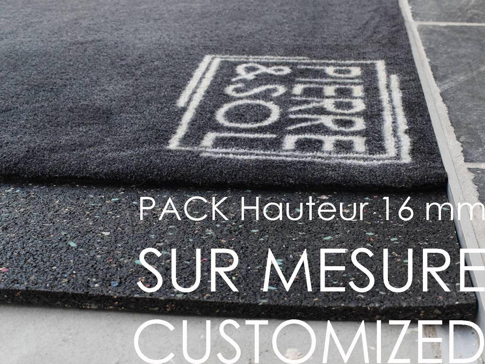 Pack Paillasson Et Cadre Sur Mesure Hauteur Reduite 16 Mm Cadre Sur Mesure Paillasson Et Cadres
