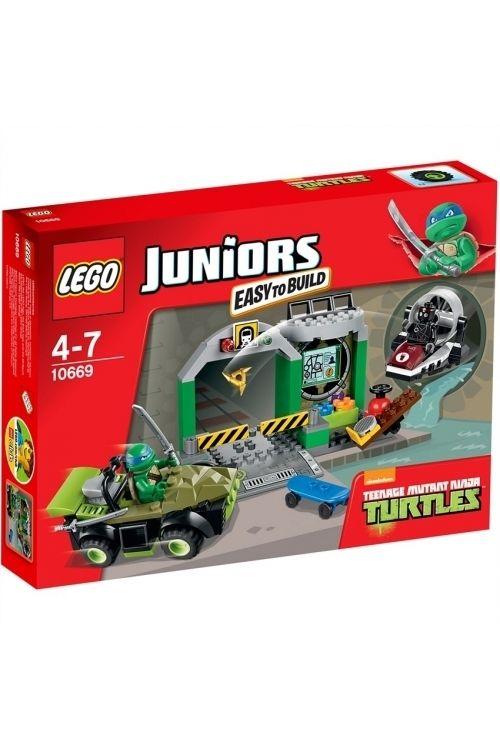 LEGO Juniors - Skildpaddehule 10669