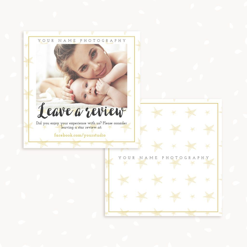 Leave A Review Card Template Card Template Templates Cards