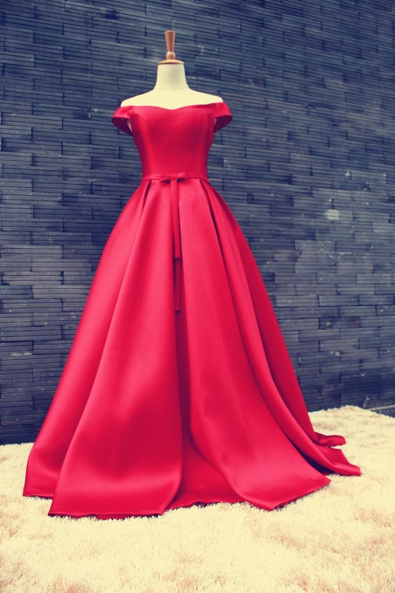 Red Luxurious Ziad Nakad Vestidos De Festa Bateau Neck Sleeveless ...