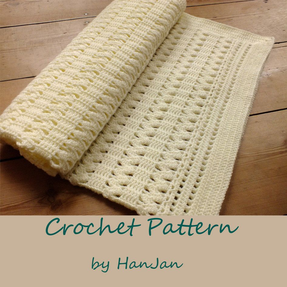 Instant download pdf crochet pattern gentle cream zigzag baby instant download pdf crochet pattern gentle cream zigzag baby blanket easy us instructions with bankloansurffo Images