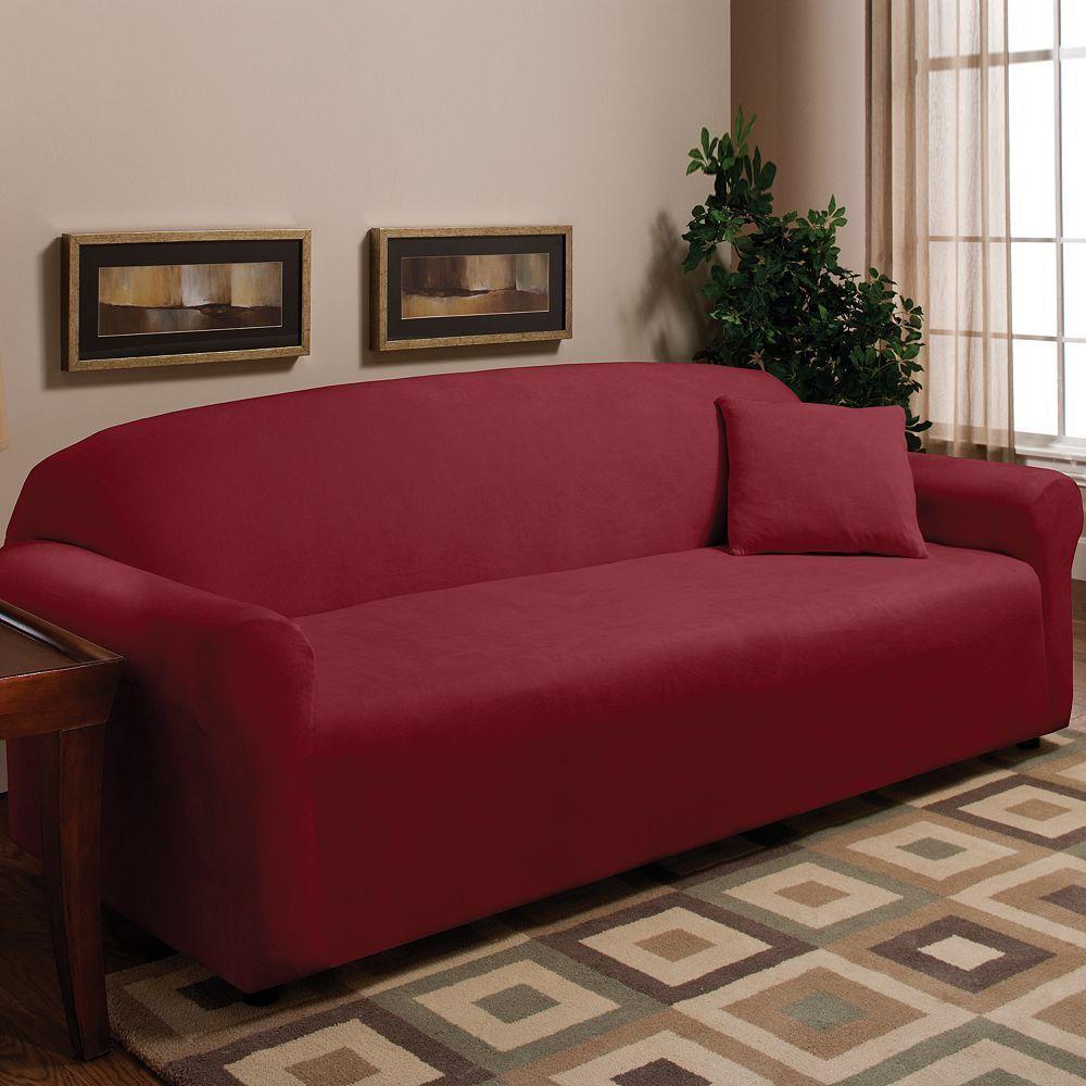 Madison Fleece Sofa Slipcover Loveseat Slipcovers