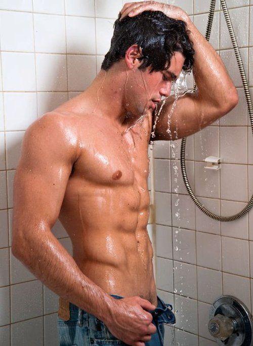 Two Blokes Showering