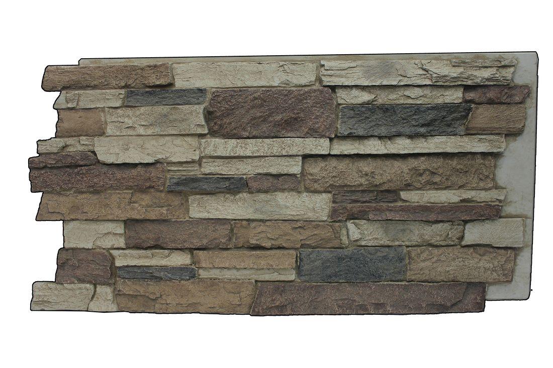 Rustic lodge mountain ledge faux stone siding remodel pinterest
