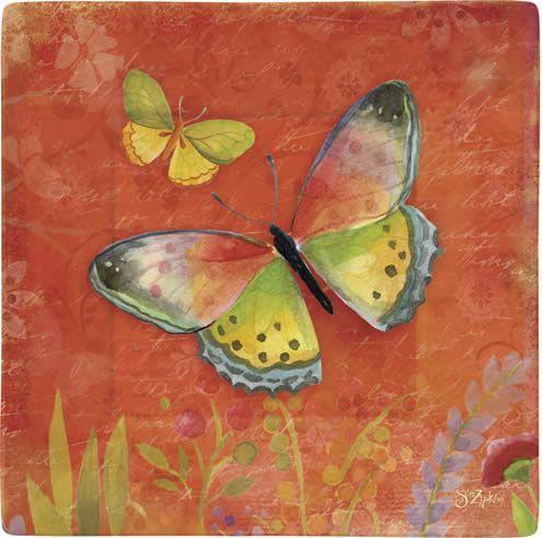 Beautiful butterfly dinnerware!