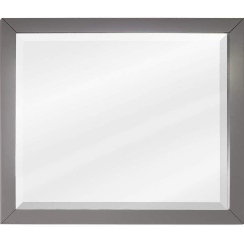 Jeffrey Alexander MIR100-33 33 X 28 Inch Framed Rectangular Vanity Mirror  From T Grey