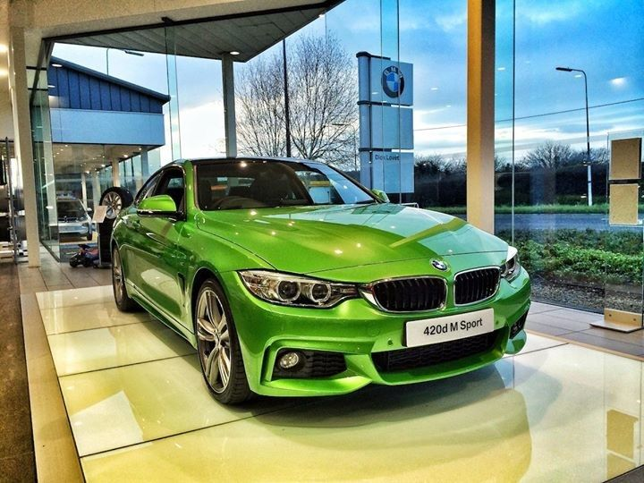 Our Custom Green Bmw 4 Series Sprayed By Our Bristol Bodyshop To