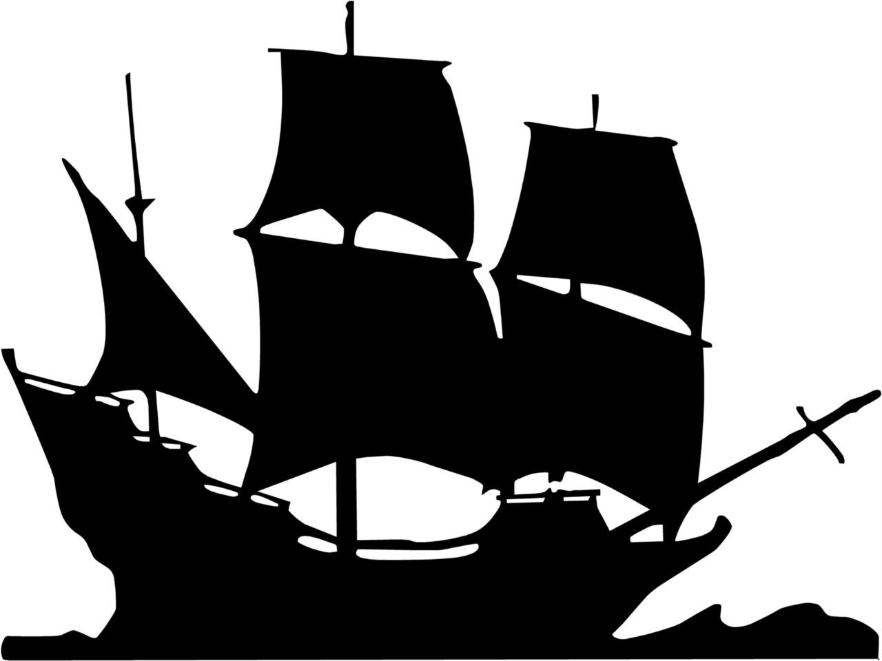 Pirate Ship Vinyl Wall Art Decal Sticker Boy Bedroom Nursery Decor