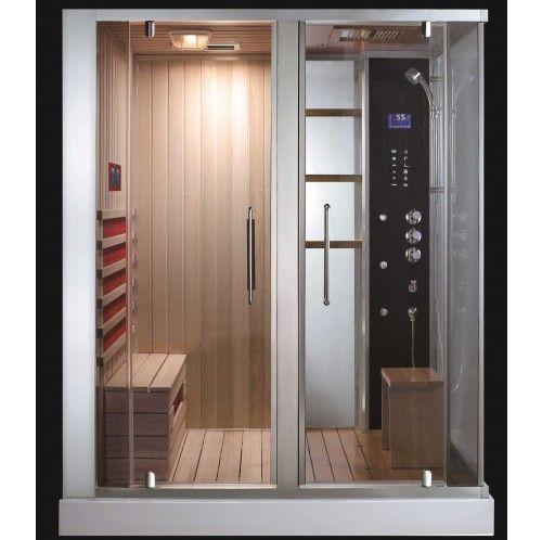 Southwood Steam Sauna With Images Sauna Shower Bathroom