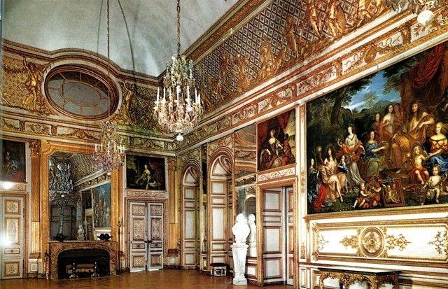 Salon De LOeil De Boeuf  Versailles    Versailles And