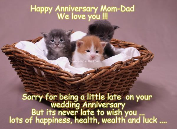 happy anniversary quotes from kids