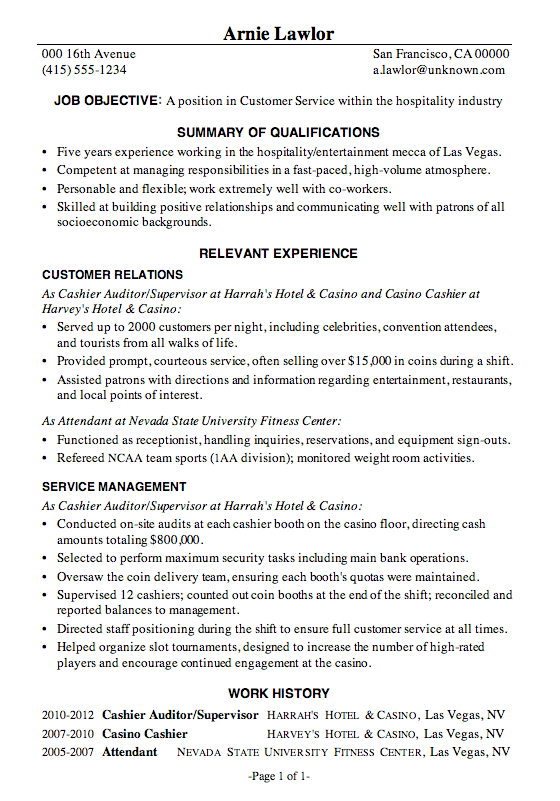 Resume Examples With Summary Examples Resume Resumeexamples Summary Resume Summary Examples Professional Resume Samples Sales Resume Examples