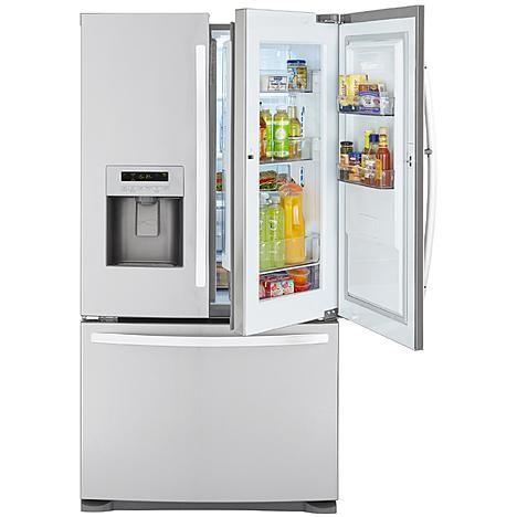 Kenmore 23 9 Cu Ft French Door Bottom Freezer Refrigerator W Gr