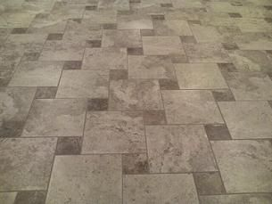 Hopscotch Pinwheel Its The Marazzi Montagna Cortina 16x16 As The Field With The Belluno 6x6 As The Accen Tile Patterns Floor Tile Design Patterned Floor Tiles