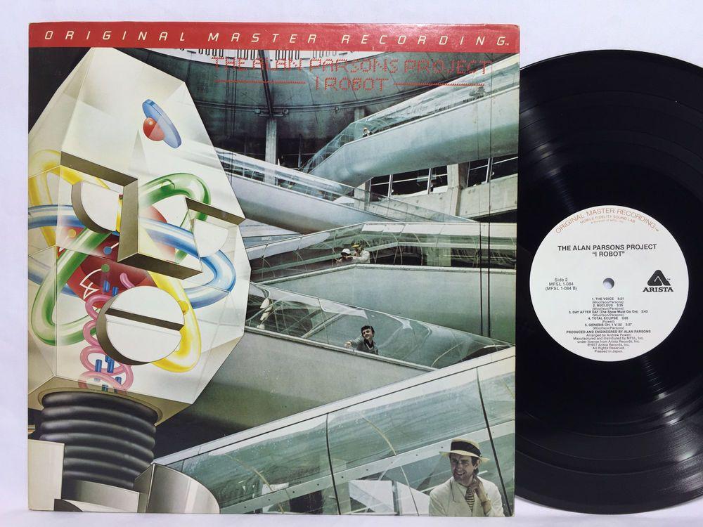 Alan Parsons Project I Robot Original Master Recording Mfsl 1