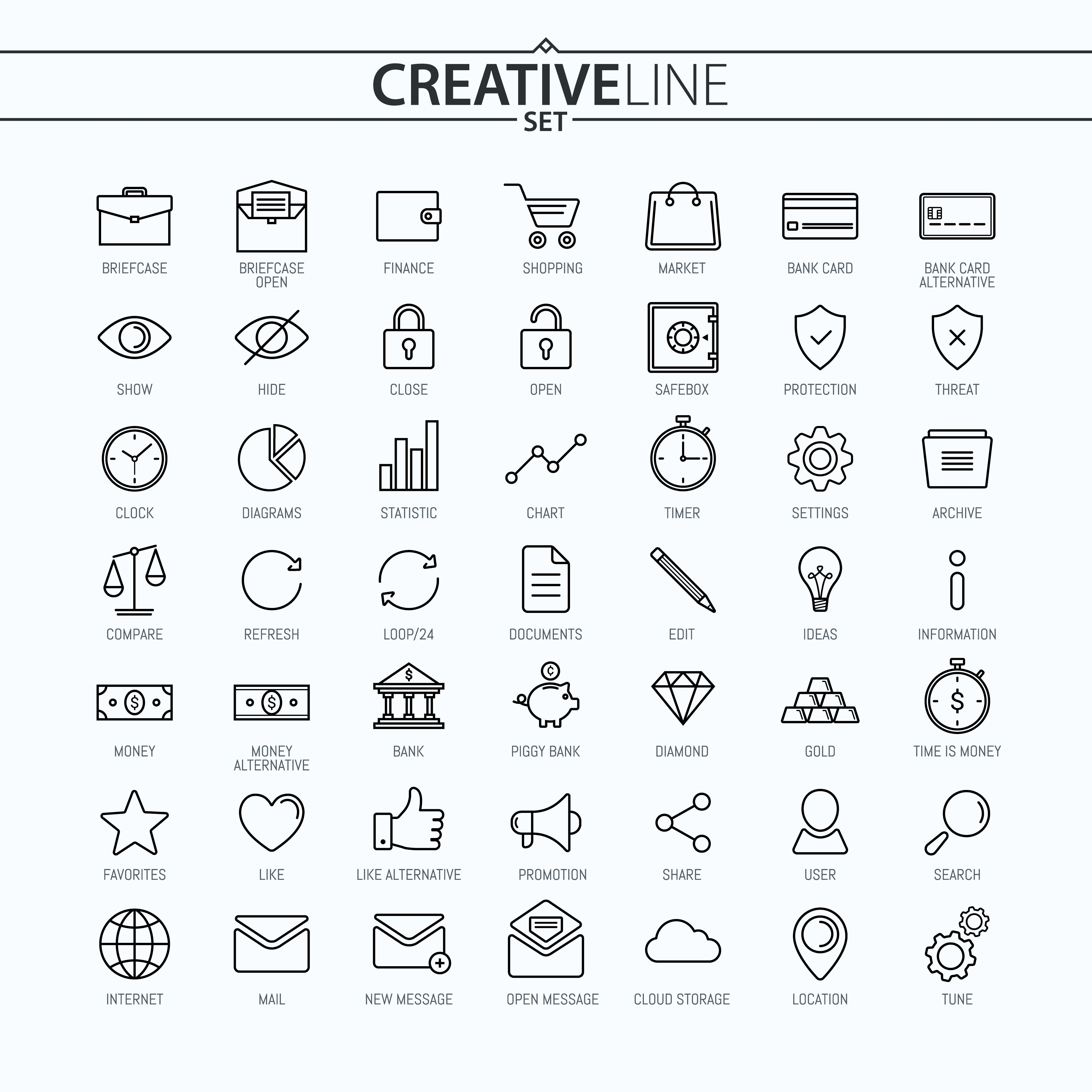 Business and finance icons set shutterstock pinterest icon business and finance icons set magicingreecefo Gallery