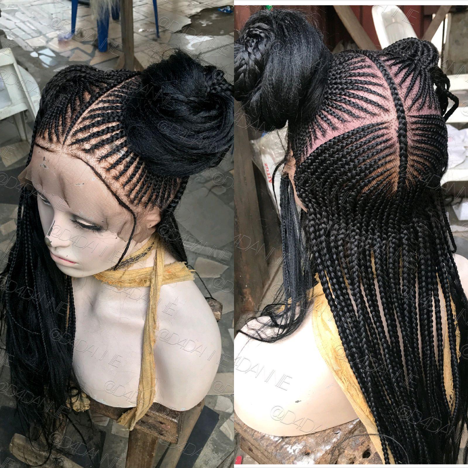 Adama braided pinterest wig cornrow and black girls hairstyles