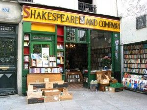 "Shakespeare & Company Bookshop in Paris- I made a second trip to Paris when someone I met in Dublin told me the history of SnC, and their hospitality to writers. I found myself unexpectedly tongue-tied when George Whitman, the proprietor, looked up at me, remarked, ""You must be a writer,"" then asked, ""How long will you be staying with us?"" It mingles with other important moments in my life in a room full of treasures. When I learned of George Whitman's passing, I fled to that room."
