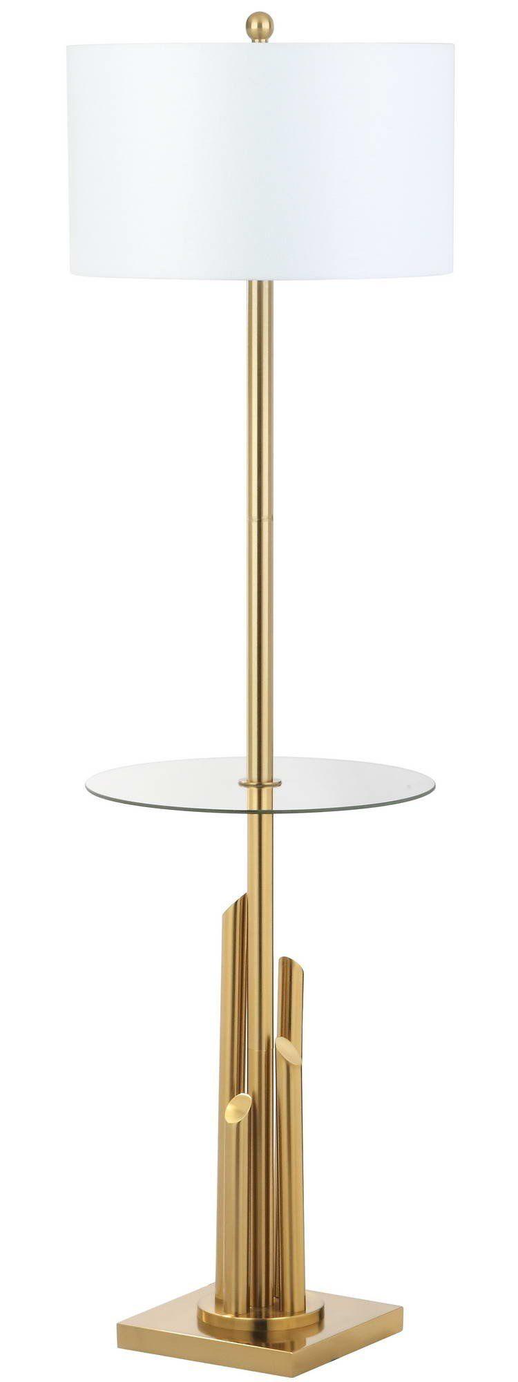 """Ashburnham Side Table 61"""" Floor Lamp"""