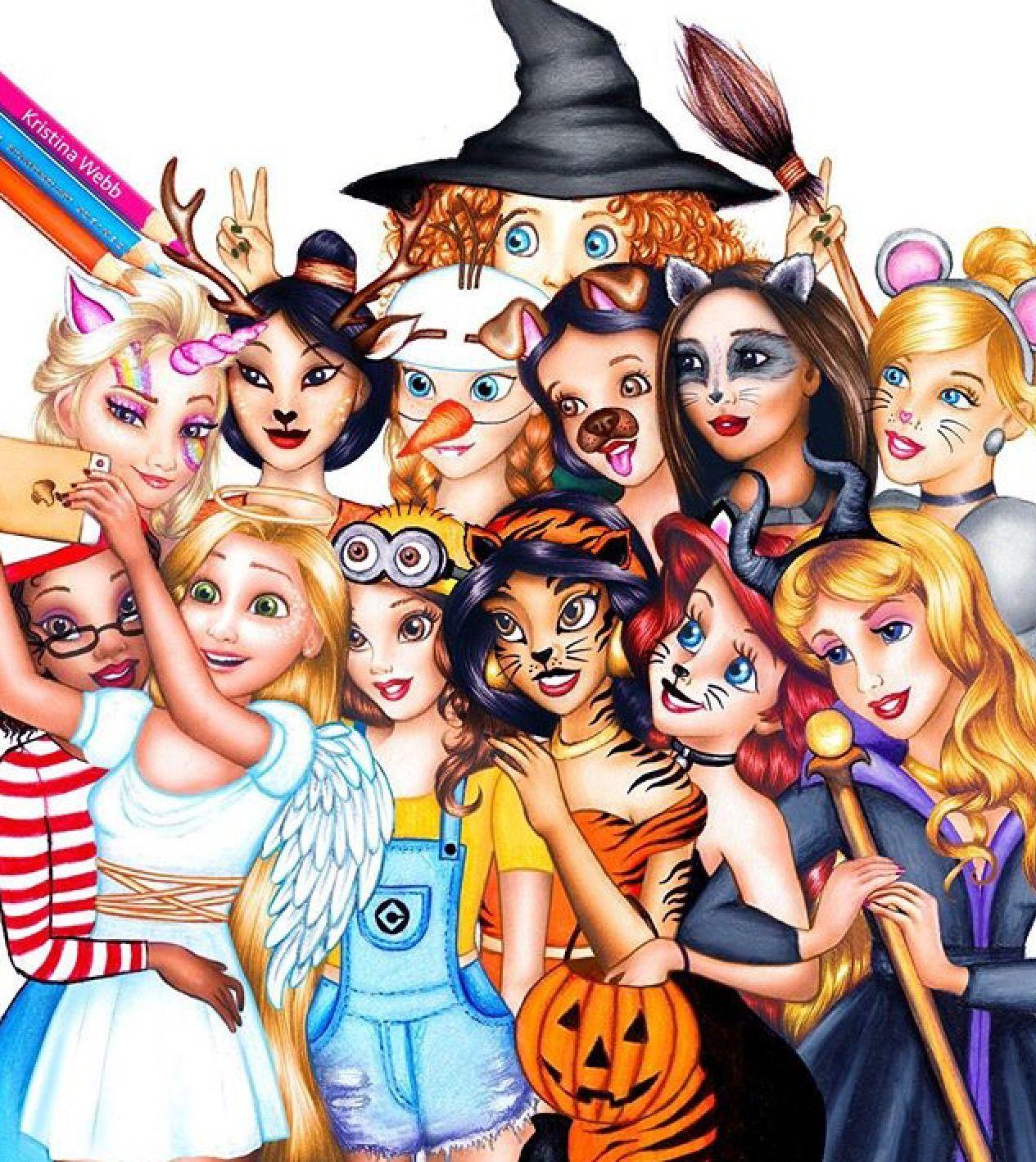 Disney Princes Halloween