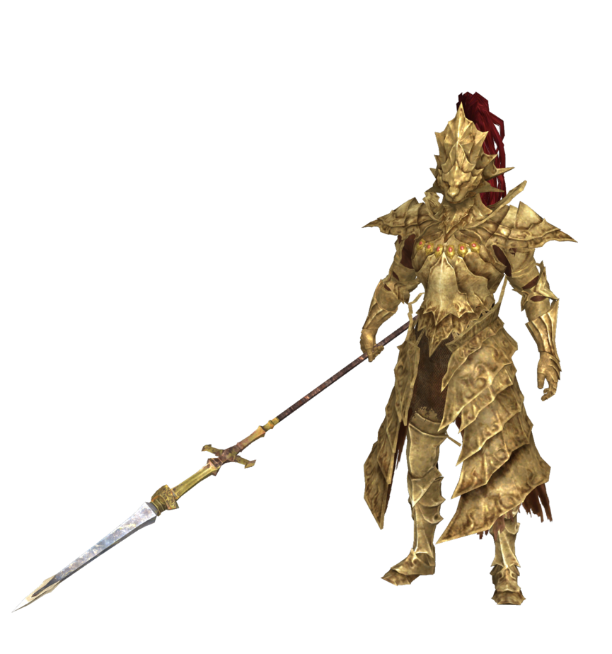 Ornstein The Dragon Slayer From Dark Souls C Extracted Converted And Rigged By Me Please Do Not Re Upload Him And Don Dark Souls Dark Souls Art Demon Souls