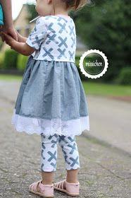 Photo of missichen: Ein Kleid für die mini-Schwester ♥