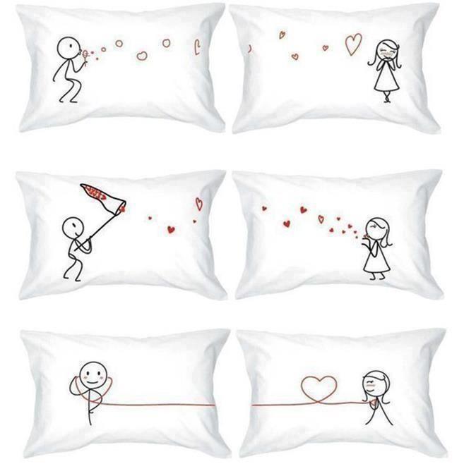 Decoración para parejas: deco ideas llenas de amor   Cojines ...