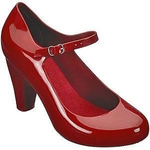Melissa Temptation shoe in red from Dollydagger