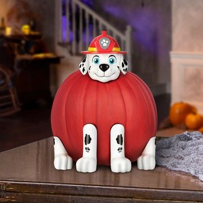 Halloween PAW Patrol Marshall Halloween Pumpkin Decorating Kit - Pumpkin decorating kits, Pumpkin halloween decorations, Pumpkin decorating, Halloween pumpkins, Holiday crafts for kids, Paw patrol - Halloween PAW Patrol Marshall Halloween Pumpkin Decorating Kit Color MultiColored  Gender unisex