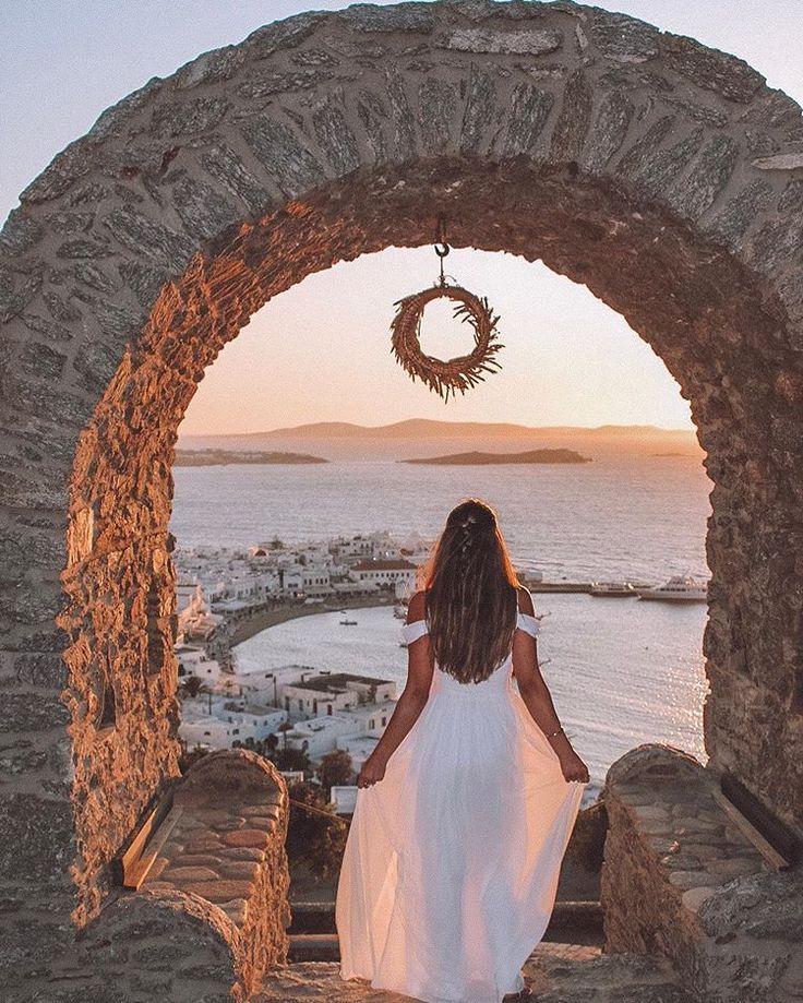 Mykonos, mykonos town, sunset, travel photography, sunsets, sunset bar mykonos, ..., Mykonos, myko