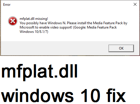 Complete guideline for mfplat dll windows 10 fix and make