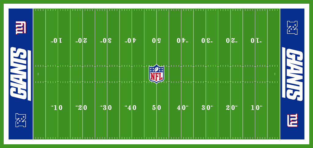 Pin By Amy E On Valentine Box Football Field New York Giants Giants