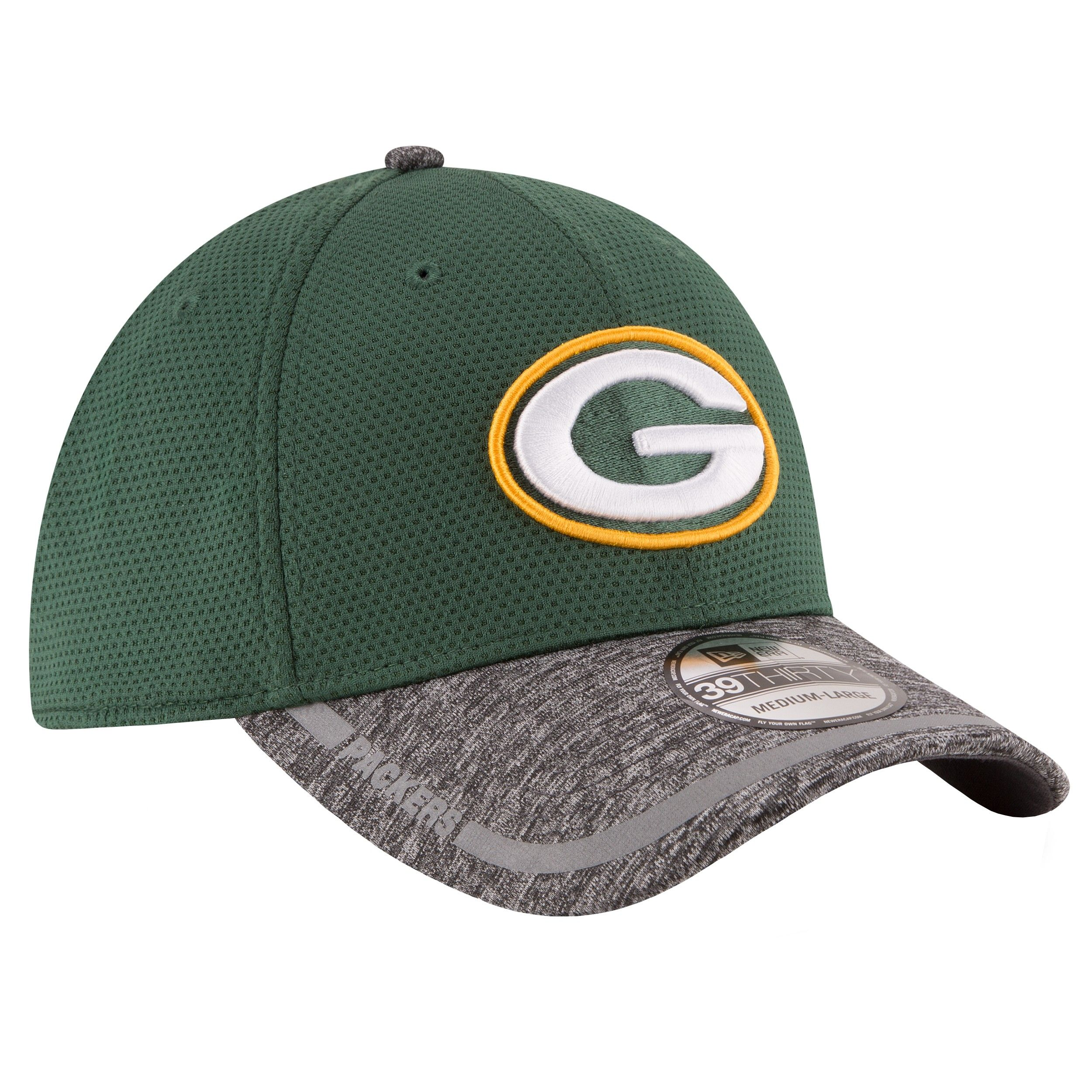 8f5cb57279b7ff 2016 Training Camp Official 39Thirty Stretch Cap. 2016 Training Camp  Official 39Thirty Stretch Cap Fitted Caps, Green Bay Packers ...