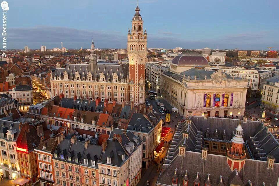 Opéra, chambre de commerce, vielle bourse, Lille Calais area and - Chambre De Commerce Boulogne Sur Mer