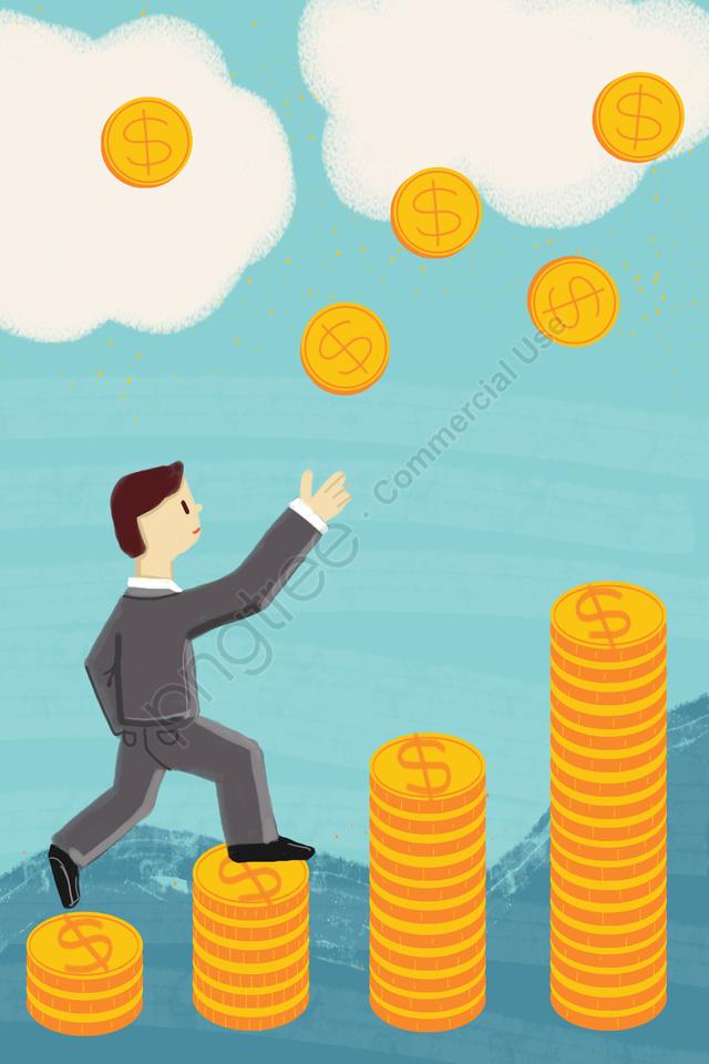 金融ビジネス通貨ゴールド 富 蓄積 ライズ Illustration Image On Pngtree ロイヤリティフリー 2020 イラスト イラスト画像 金融