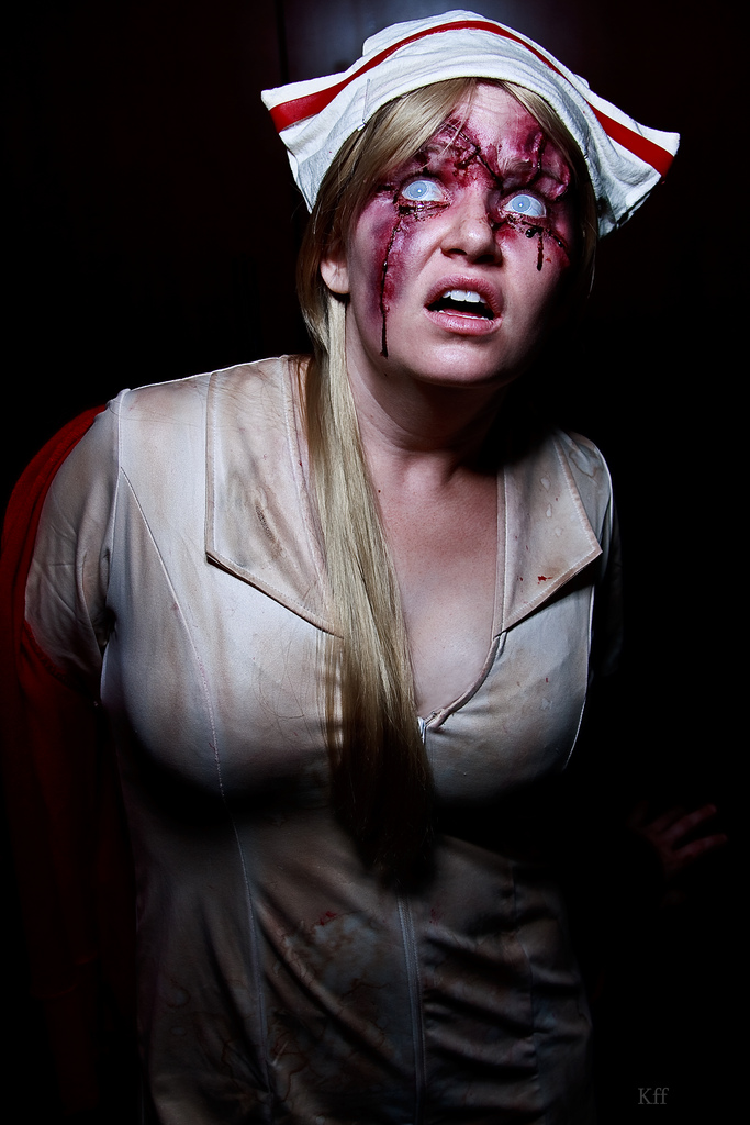Lisa Garland / Red Nurse Silent Hill (movie) cosplay by