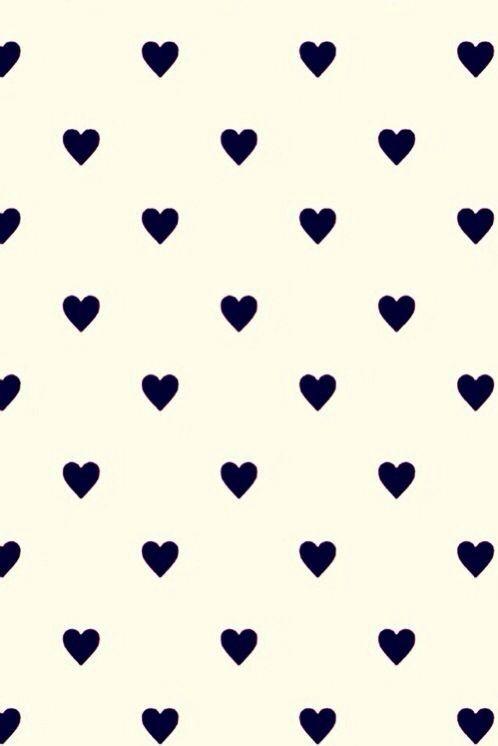 Little Black Hearts Wallpaper Cute Wallpaper For Phone Heart Wallpaper Iphone Wallpaper