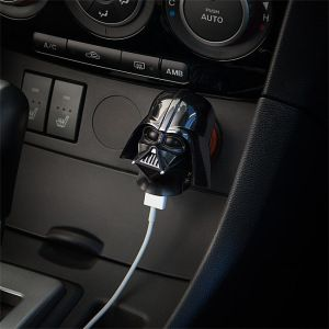 Darth Vader USB Car Charger - more info here - http://life-worry.com/darth-vader-usb-car-charger/