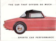 Car Brochures   Austin Healey Sprite Brochure  Sprite Inner