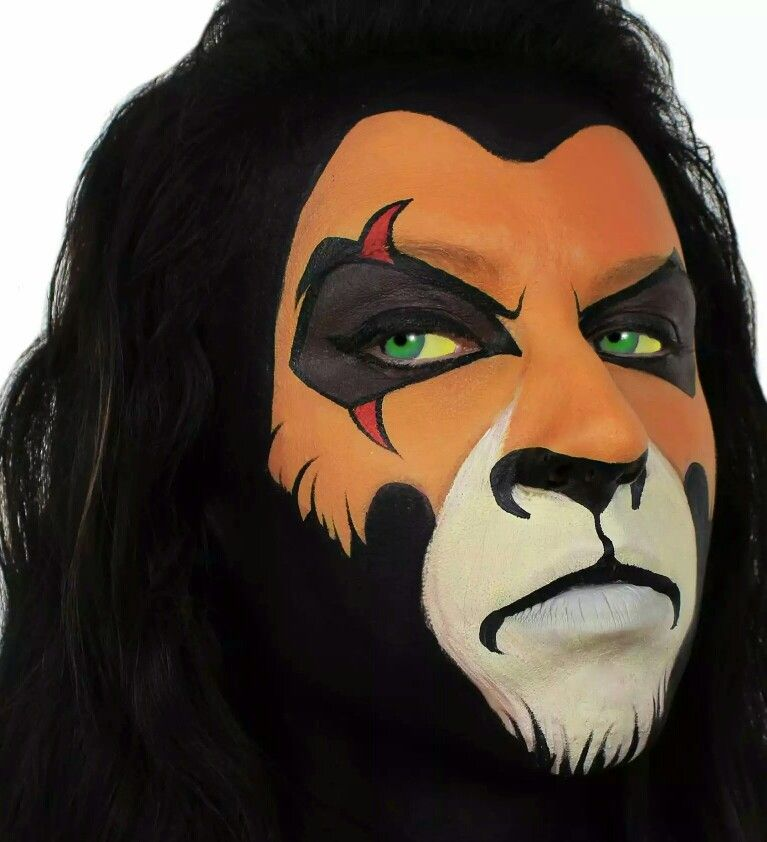 mufasa face painting pinterest der l we l win und k nigin. Black Bedroom Furniture Sets. Home Design Ideas
