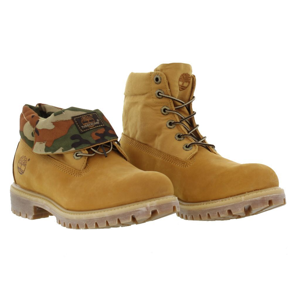 timberland roll top wheat